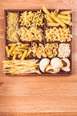 Various pasta — Stock Photo