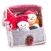 Knitted christmas — Foto Stock