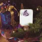 Present ang greetings — Stock Photo