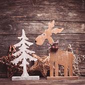 Natural christmas decor — Stock Photo