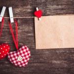 Valentine greetings — Stock Photo