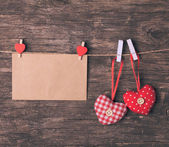Valentine greetings — Foto Stock