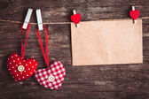 Valentine greetings — Stock Photo