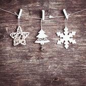 Weiße weihnacht — Stockfoto