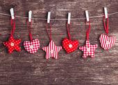 Decoración de navidad confeccionadas — Foto de Stock
