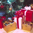 Presents boxes — Stock Photo