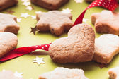 Holiday cookies — Stock Photo