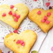 Stockfoto: Heart cookies
