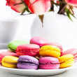 Macaroons in gift box — Stock Photo #39680241