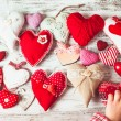 Valentine handmade heart — Stock Photo #40140935