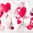 Valentine handmade heart — Stock Photo #40141113