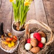 Stock Photo: Easter decor