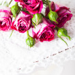 Pink roses — Stock Photo #42993745