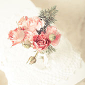 Vintage bouquet — Stock Photo