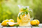 Lemonade in the jug — Foto de Stock
