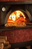 Pizza cuisson — Photo