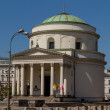 Saint Alexander church in Warsaw — Stock Photo
