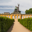 Stock Photo: South facade of Sanssouci Picture Gallery in Potsdam, Germany