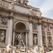Fountain di Trevi - most famous Rome's fountains in the world. I — Foto de Stock