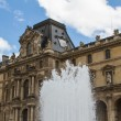 PARIS - JUNY 7: Louvre building on Juny 7, 2012 in Louvre Museum — Stock Photo