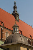 Cracow - Corpus Christi Church was founded by Kasimirus III The — Stock Photo