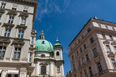 Vienna, Austria - famous Peterskirche (Saint Peter's Church) — Стоковое фото