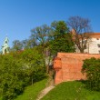 Royal castle in Wawel, Krarow - ストック写真