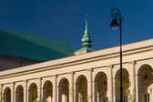 Warsaw, Poland. Saint Anne neoclassical church in Old Town quart — Stock Photo