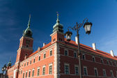 Warsaw, Poland. Old Town - famous Royal Castle. UNESCO World Her — Foto de Stock