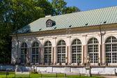 łazienki sarayı łazienki parkı, varşova. łazienki krolewski — Stok fotoğraf
