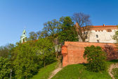 Royal castle in Wawel, Krarow — Stock Photo