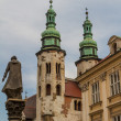 Romanesque church of St Andrew tower in Krakow built between 107 - Stock fotografie