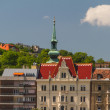 View of landmarks in Budapest - Stock Photo
