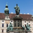 Hofburg palace and monument. Vienna.Austria. — Stock Photo
