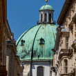 Vienna, Austria - famous Peterskirche (Saint Peter's Church) — 图库照片