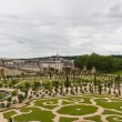 Famous palace Versailles near Paris, France with beautiful garde — Zdjęcie stockowe #12746800