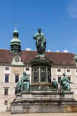Hofburg sarayı ve anıt. vienna.austria. — Stok fotoğraf