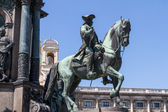 Maria Theresia Monument, in Vienna — Stock Photo