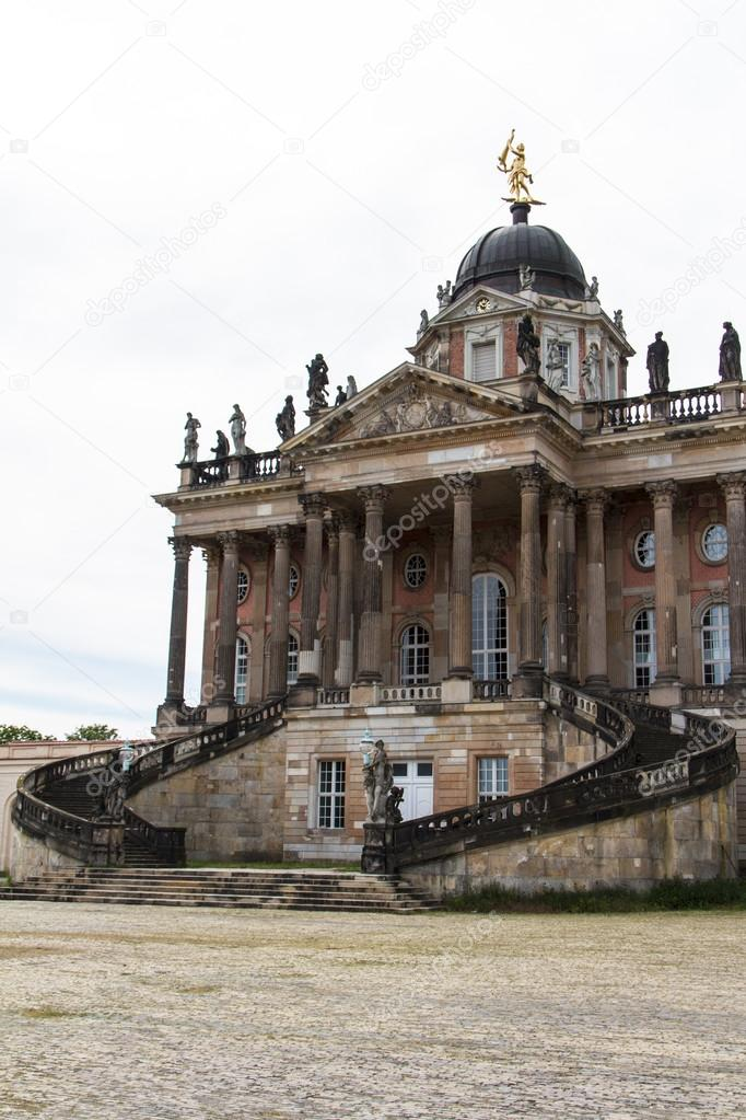 One of the university buildings of Potsdam — Stock Photo #12747908