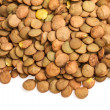 Stock Photo: Lentils Isolated on White Background