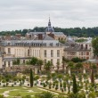 Famous palace Versailles near Paris, France with beautiful garde — Stock Photo