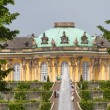 Schloss Sanssouci in Potsdam, Germany — Stock Photo