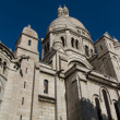 The external architecture of Sacre Coeur, Montmartre, Paris, Fra - Foto de Stock