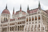 Budapest, the building of the Parliament (Hungary) — Стоковое фото