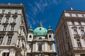 Vienna, Austria - famous Peterskirche (Saint Peter's Church) — Foto Stock