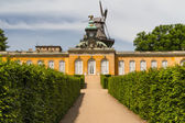 South facade of Sanssouci Picture Gallery in Potsdam, Germany — Stock Photo