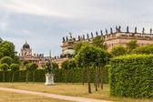 Det nya palatset i potsdam tyskland på unesco: s världsarvslista — Stockfoto