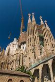 Barcelona, espanha-25 de junho: sagrada família, em 25 de junho de 2012: la — Fotografia Stock