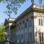 The Lazienki palace in Lazienki Park, Warsaw. Lazienki Krolewski — Stock Photo