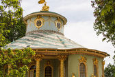 Chinese house in the gardens of Sans Souci, Berlin — Stock Photo